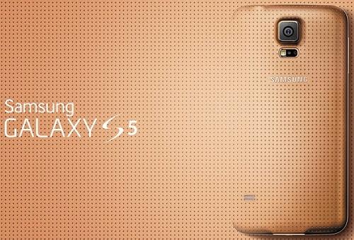 Desain Cover Bagian Belakang Samsung Galaxy S5