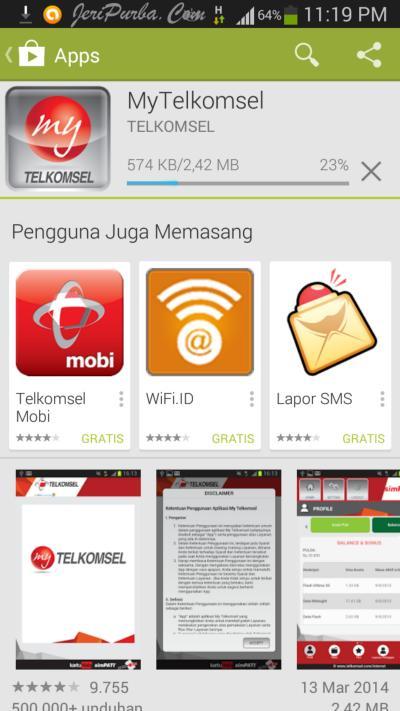 Download Aplikasi My Telkomsel Untuk Android