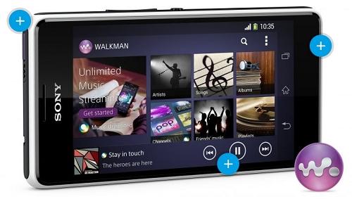 Fitur Walkman Sony Xperia E1