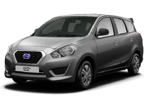 Gambar Mobil Datsun Go+ Warna Abu-Abu (Grey