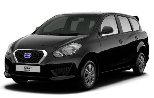 Gambar Mobil Datsun Go+ Warna Hitam (Black)