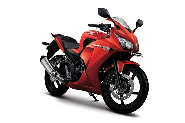 Gambar Motor All New Honda CBR Warna Merah (Millenium Red)