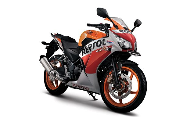 Gambar Motor All New Honda CBR Warna Orange (Repsol)