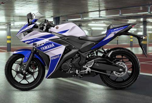 Gambar Motor Yamaha R25 Warna Biru (Racing Blue)