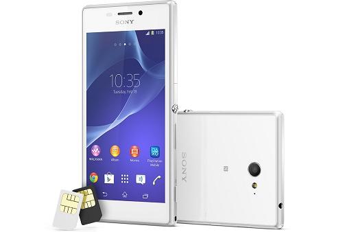 Harga Sony Xperia M2 Dual SIM Warna Putih