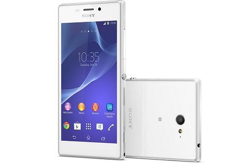 Harga Sony Xperia M2 Warna Putih