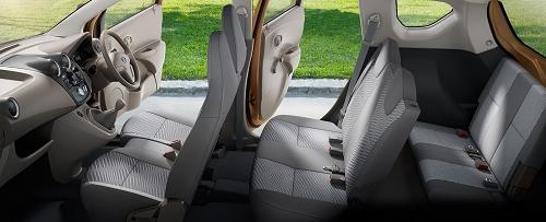 Interior Mobil Datsun Go+