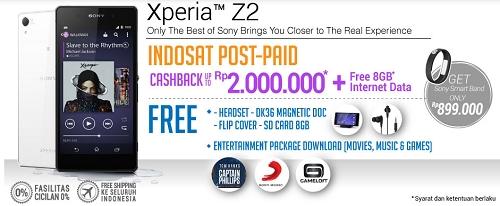 Pre Order Sony Experia Z2 di blibli.com