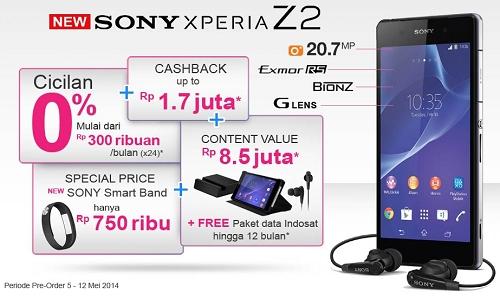 Pre Order Sony Experia Z2 di dinomarket.com