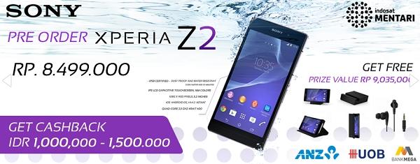 Pre Order Sony Experia Z2 di tokopda.com