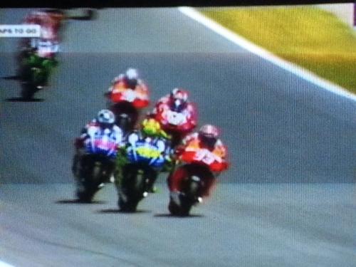 Saling Salip Antara Pembalap Dalam MotoGP Spanyol 2014