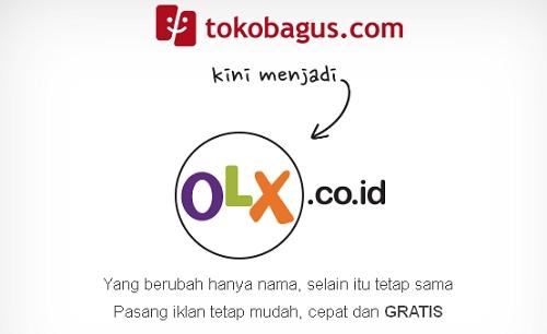 Situs TokoBagus.Com Berganti Menjadi OLX.Co.Id