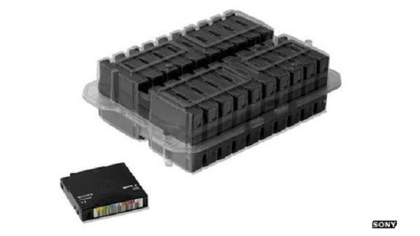 Sony Tape Storage - Media Penyimpanan Kaset Terbesar Saat Ini