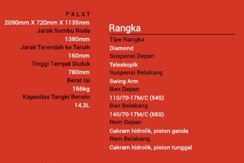 Spesifikasi Motor Yamaha R25 - Ukuran dan Tipe Rangka