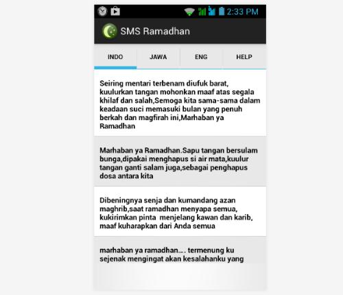 Download SMS Ucapan Selamat Ramadhan 1435 H