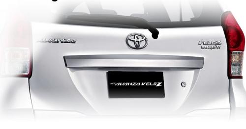 Eksterior Mobil Toyota Avanza Veloz Luxury