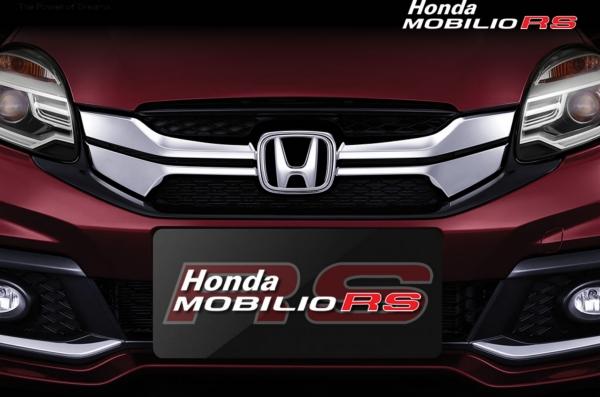 Gambar Eksterior Honda Mobilio RS Bagian Depan