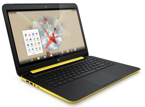 Gambar Laptop HP SlateBook Tampak Samping