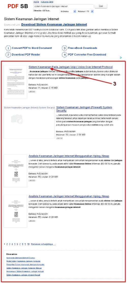 PDF SB, Tempat Download Buku-Buku Online Gratis