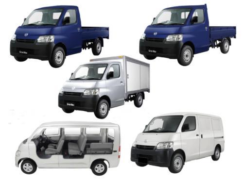 Tipe-Tipe Mobil Daihatsu Gran Max