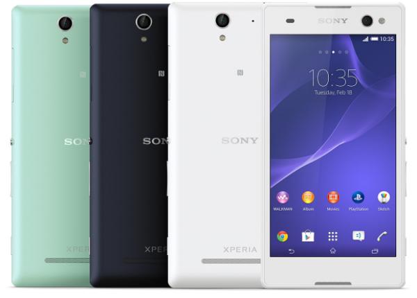 Pilihan Warna Sony Xperia C3