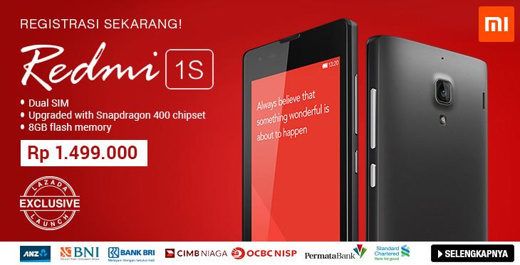Beli Xiaomi Redmi 1S di Lazada