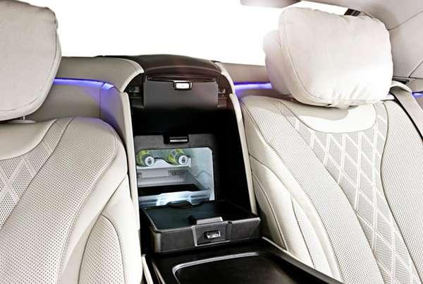 Boks pendingin Bagian Belakang New Mercedes-Benz S 600 Guard