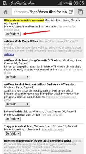 Cara Mempercepat Google Chrome Di Android
