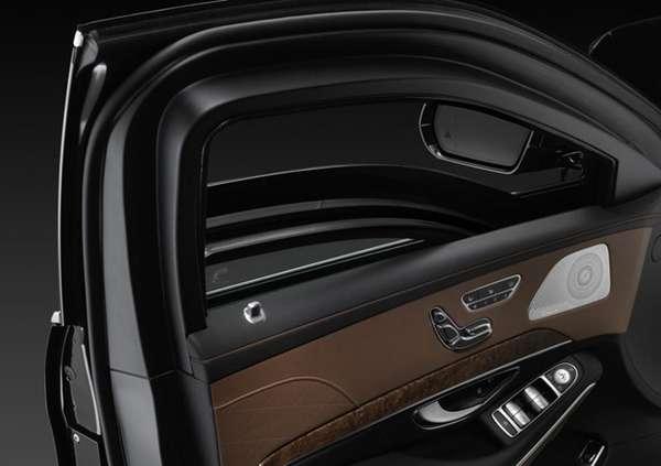 Gambar Kaca Polycarbonat New Mercedes-Benz S600 Guard