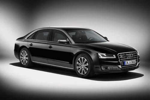 Gambar Mobil Anti Peluru Audi A8 L Security