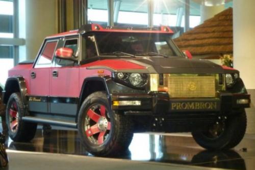 Gambar Mobil Anti Peluru Dartz Prombron Red Diamond