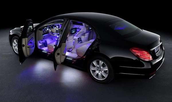 Gambar Mobil Anti Peluru New Mercedes-Benz S600 Guard