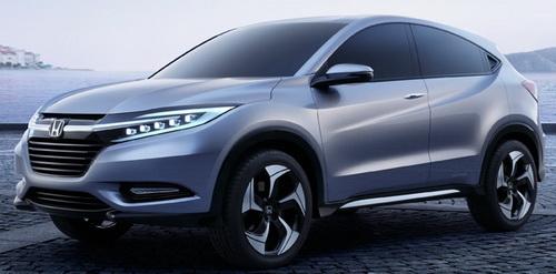 Gambar Mobil Honda HR-V Warna Biru