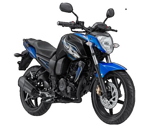 Gambar Yamaha Byson Warna Biru