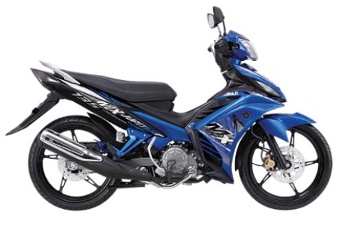 Gambar Yamaha Jupiter MX Warna Biru