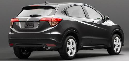 Honda HR-V Warna Hitam