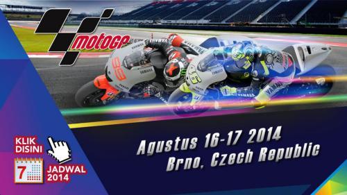 Jadwal MotoGP 2014 Brno Ceko Live di Trans7