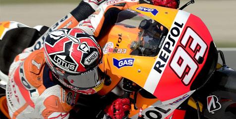 Marc Marquez Tercepat Dalam Sesi Latihan Bebas Kedua MotoGP 2014 Indianapolis