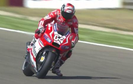 Andrea Dovizioso Dalam Sesi Latihan Bebas 2 MotoGP Aragon Spanyol