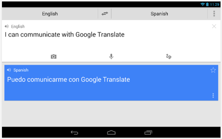 Google Translate Untuk Android
