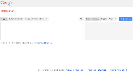 Google Translate Versi Web
