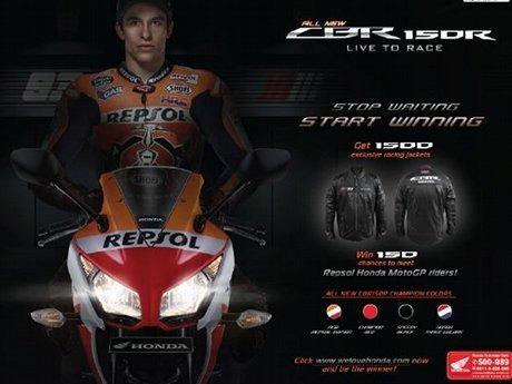 Harga Honda CBR 150 R dan CBR 150R Repsol Edition