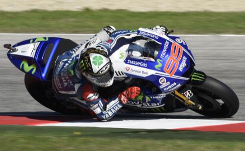Jorge Lorenzo Saat Kualifikasi MotoGP 2014 San Marino