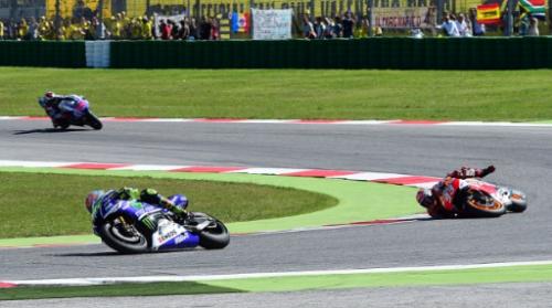 Marquez Terjatuh Dalam MotoGP 2014 Di San Marino