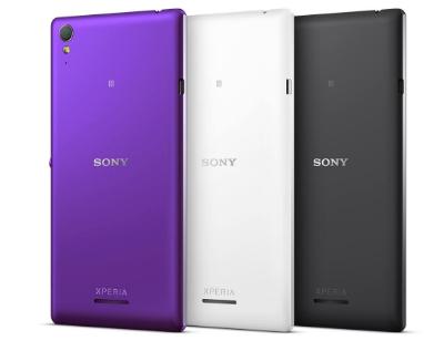 Pilihan Warna Sony Xperia T3