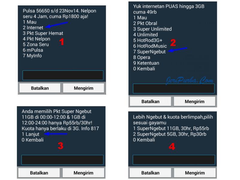 Cara Mengaktifkan Paket Super Ngebut XL melalui *123#