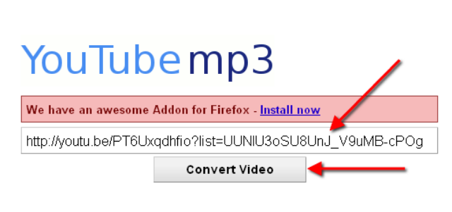 Cara Merubah Video YouTube Ke Mp3