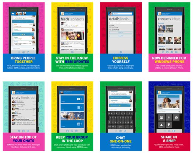 Download BBM Untuk Windows Phone Beta 1.2.0.9