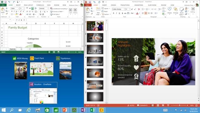 Fitur Quad Snap di Windows 10