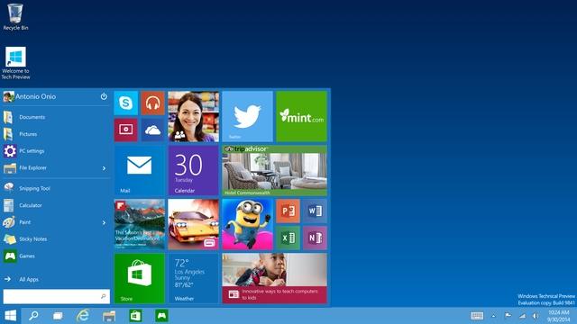 Fitur Terbaru Windows 10 Start Menu